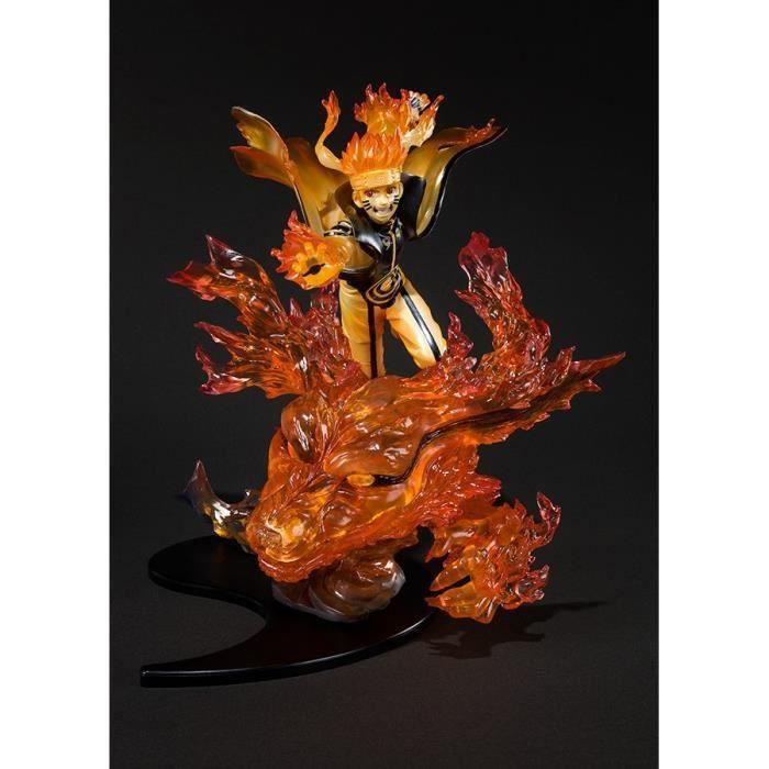 Figurine Naruto Shippuden Naruto Uzumaki Kurama Relation Figuarts Zero 22cm