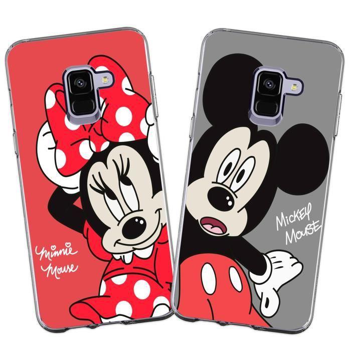 Coque Samsung Galaxy J6 2018 Minnie Mouse