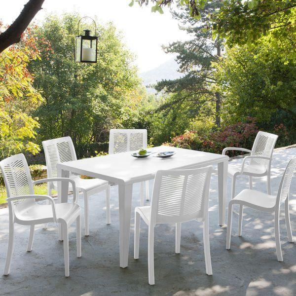 Grosfillex table jardin
