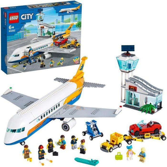 Photo de lego-city-60262-lavion-de-passagers