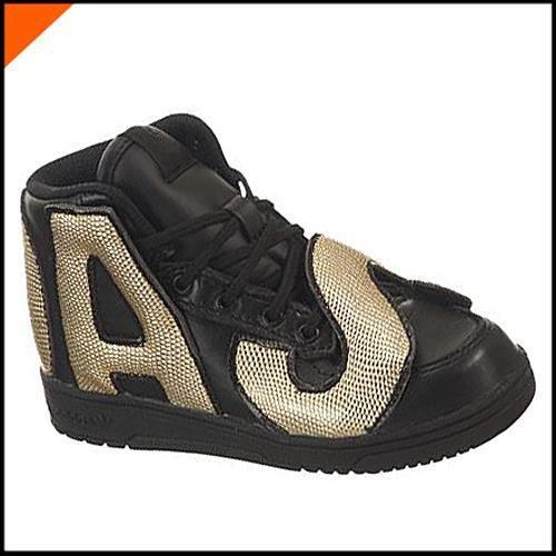 Adidas Originals JS LETTERS GOLD I Enfant Noir Or M18991