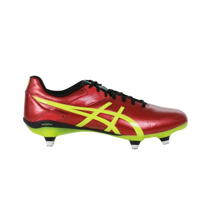 Pas Rougejaune Asics Lethal St Rugby Speed Cher Chaussure Prix dxrQsCth