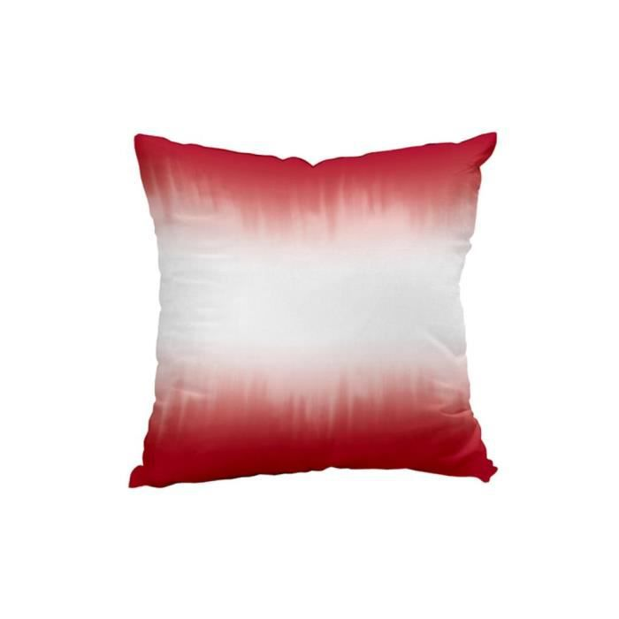 coussin d co tie and dye rouge achat vente coussin cdiscount. Black Bedroom Furniture Sets. Home Design Ideas