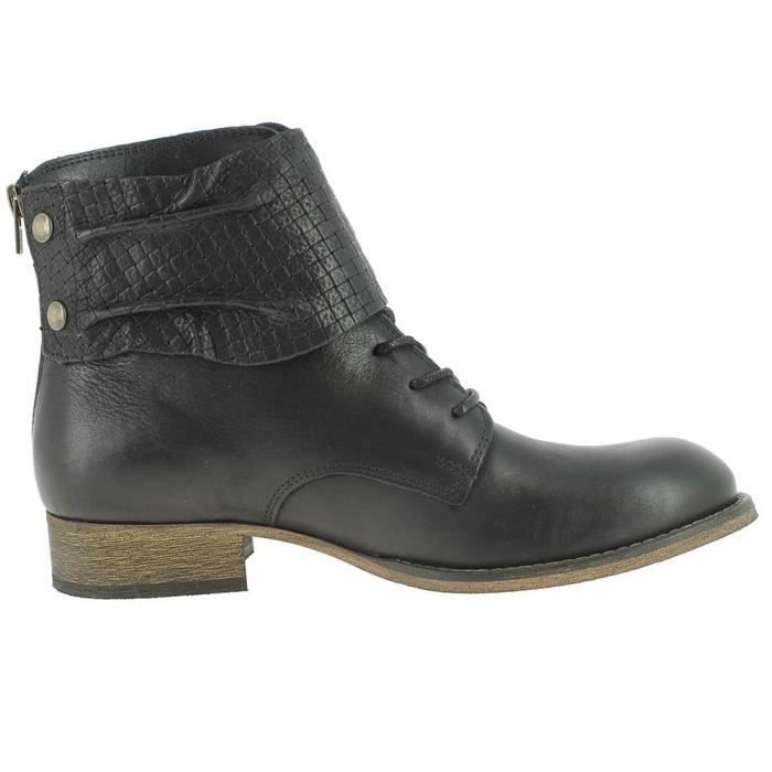 bottines / low boots punkyzip femme kickers 444362