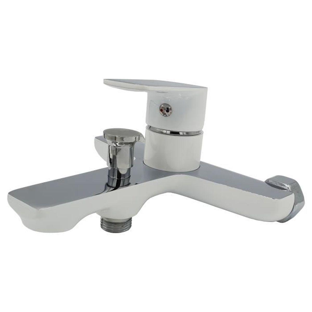 Baignoire Ceramique Pas Cher robinet baignoire blanc