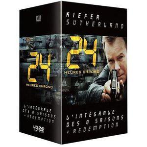 DVD SÉRIE DVD 24 Heures Chrono l'intégrale des 8 saisons