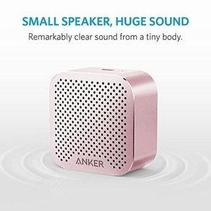 ENCEINTE NOMADE Enceinte Bluetooth Compacte couleur rose doré, Por