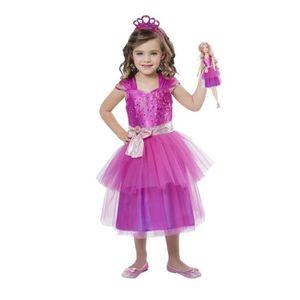 POUPÉE Costume pour enfants Barbie Princesse et Mini Me V