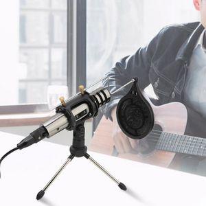 MICROPHONE Microphone condensateur radiodiffusion studio son