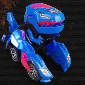 VOITURE ELECTRIQUE ENFANT Dinosaures Transformers,Voiture De DéFormation Jou