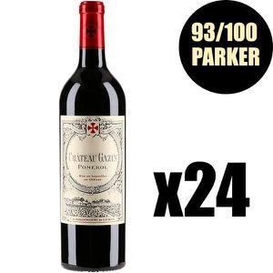 VIN ROUGE X24 Château Gazin 2015 75 cl AOC Pomerol Vin Rouge