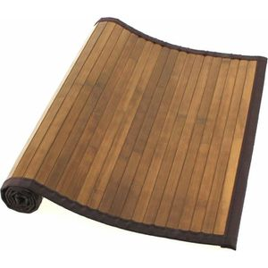 tapis bambou marron achat vente tapis bambou marron pas cher cdiscount. Black Bedroom Furniture Sets. Home Design Ideas