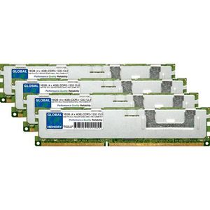 MÉMOIRE RAM 16Go (4 x 4Go) DDR3 1333MHz PC3-10600 240-PIN ECC