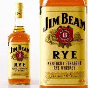 WHISKY BOURBON SCOTCH Bourbon Jim Beam White Rye