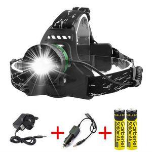 LAMPE FRONTALE MULTISPORT Garberiel Lampe frontale LED rechargeable 3000 lum