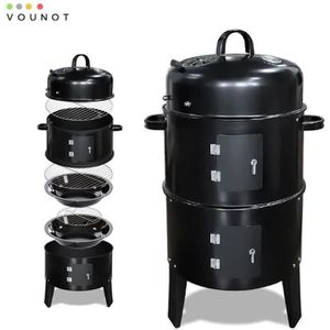 BARBECUE Barbecue Fumoir Smoker Multifonctions|BBQ 3 en 1 T