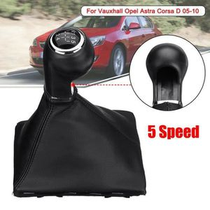AAlamor 6 Speed Gear Shift Bouton Stick Gaiter pour Vauxhall Opel Astra Corsa D Zafira B 05-10