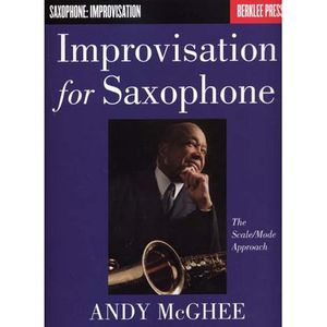MÉTHODE METHODE - IMPROVISATION FOR SAXOPHONE SCALE/MOD…
