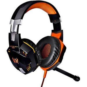 CASQUE AVEC MICROPHONE Kotion EACH G2000 Gaming Headset Over-oreille Deep