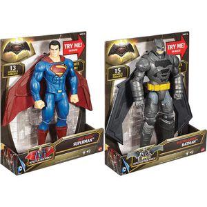 ROBOT - ANIMAL ANIMÉ Mattel Batman - Superman Cm.30 Deluxe - Jeux-Jouet
