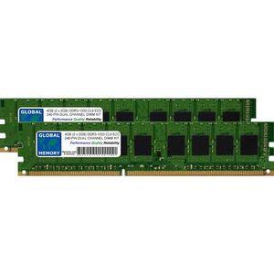 MÉMOIRE RAM 4Go (2 x 2Go) DDR3 1333MHz PC3-10600 240-PIN ECC D