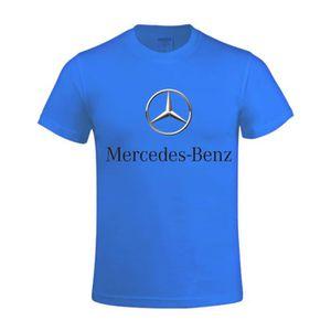 T-SHIRT T-shirt Homme Mercedes Benz logo 2 Manches courtes