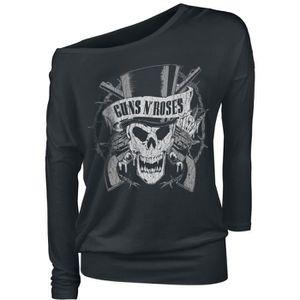 """GUNS N/'ROSES /""""Crânes /& PISTOLETS Las Vegas T-shirt-NOUVEAU /& OFFICIEL!"""