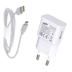 CHARGEUR TÉLÉPHONE Chargeur Rapide USB Original 1,5A + Câble USB-C Po