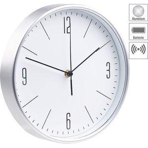 HORLOGE - PENDULE Horloge murale radio-pilotée Ø 25 cm à grands chif