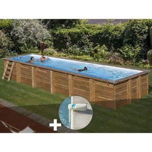 PISCINE Kit piscine bois Sunbay Anise 9,18 x 3,27 x 1,46 m