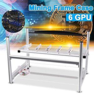 BOITIER PC  TEMPSA DIY Aluminum Mining Miner Frame Rig Case Ca