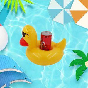 3 Pack 2 Styles Gonflable Boisson Support piscine Coaster flotter vos boissons en style