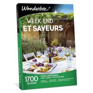 COFFRET SÉJOUR Wonderbox - Coffret cadeau de noel  - Week-end et