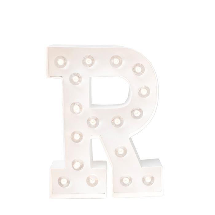 ARTEMIO Lettre lumineuse à led R