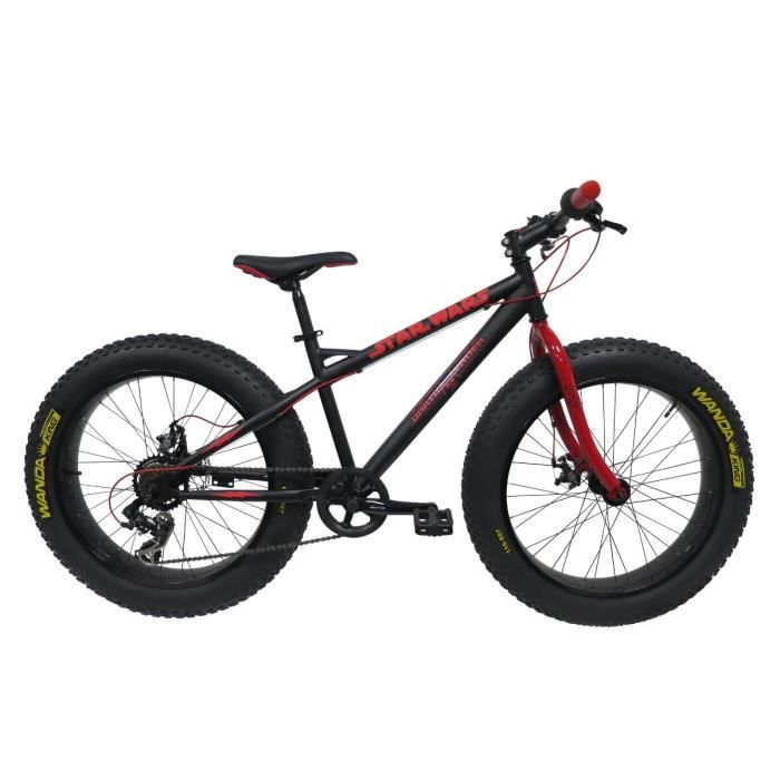 star wars v lo vtt fatbike 24 pouces enfant gar on 9 12 ans prix pas cher cdiscount. Black Bedroom Furniture Sets. Home Design Ideas