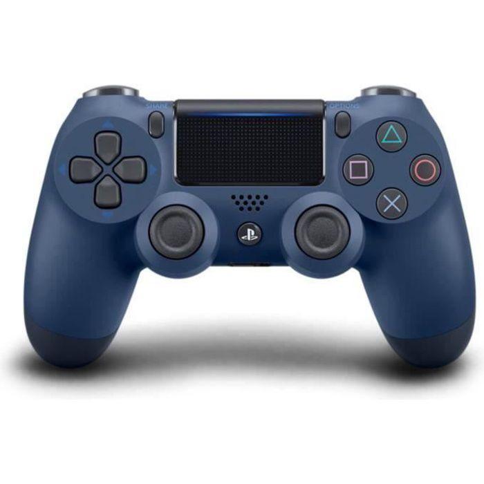 MANETTE JEUX VIDÉO Manette PS4 DualShock 4 Midnight Blue V2