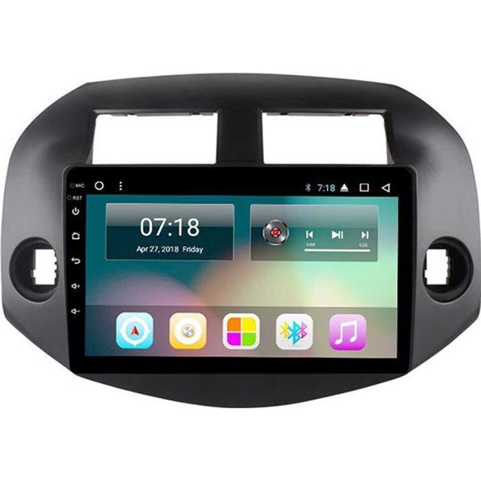 GTFHUH Autoradio An oid pour Toyota RAV4 2007-2012 &eacutecran Tactile IPS Prend en Charge la Navigation GPS int&eacutegr&eacu295
