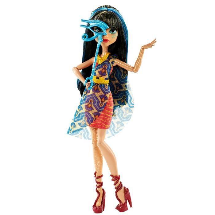 Poupée Monster High - Cléo de Nile (Danse des masques)