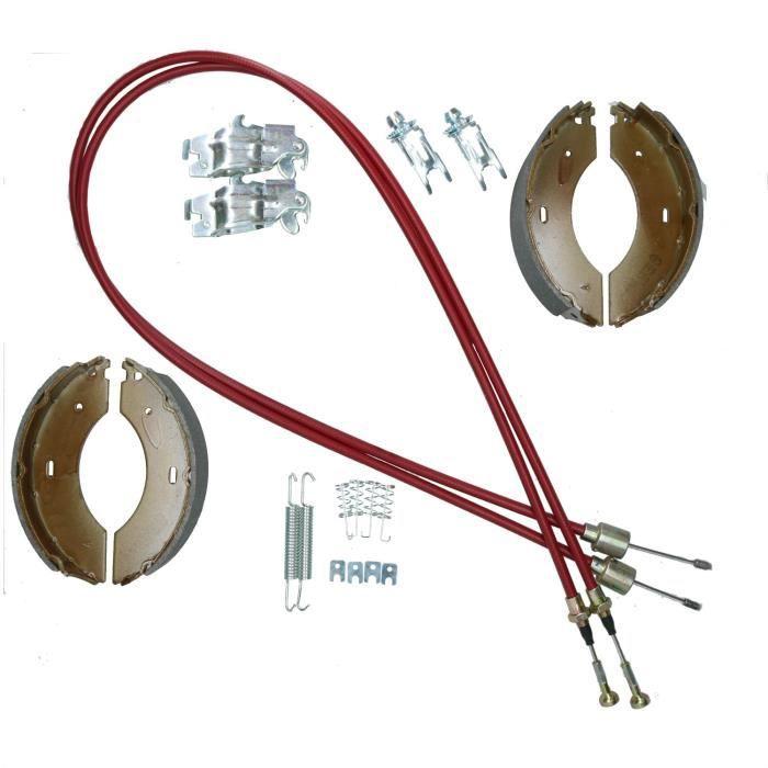 Sabot de frein et Cable Kit pour Indespension 1500kg Tow-a-van fort Van Trailer