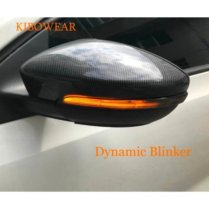 Paire de clignotants dynamiques, pour Volkswagen Jetta MK6 Euro GLi Passat CC B7 Beetle Scirocco Mirror 2013 2014 2015 2016