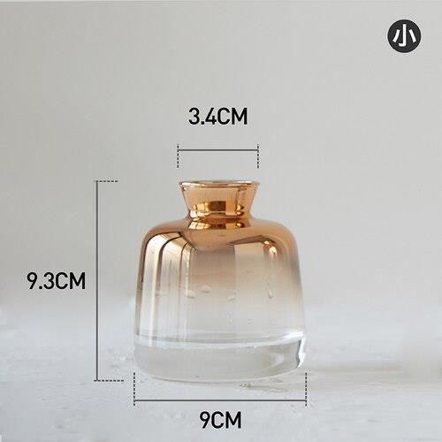 Vase à fleurs en verre Simple créatif ~S E2856