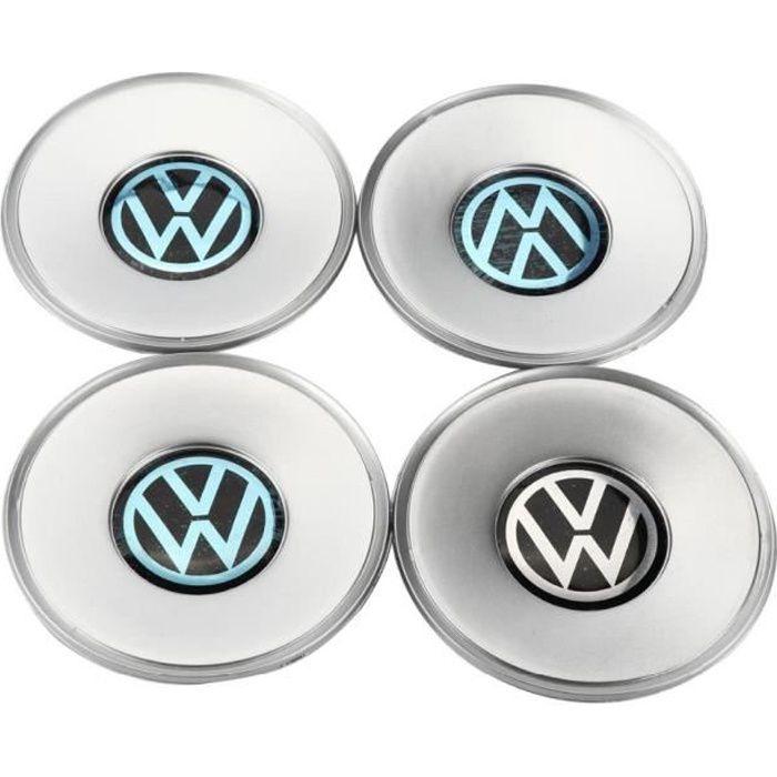 Centre de roue chromé avec emblème, 4 pièces, cache moyeu de 154mm, pour VW Volkswagen Passat B5 Passat 3B0 601 149