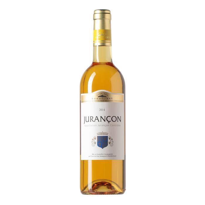 Jurançon Vin doux du Sud Ouest - Blanc - 75 cl - Club des Sommeliers