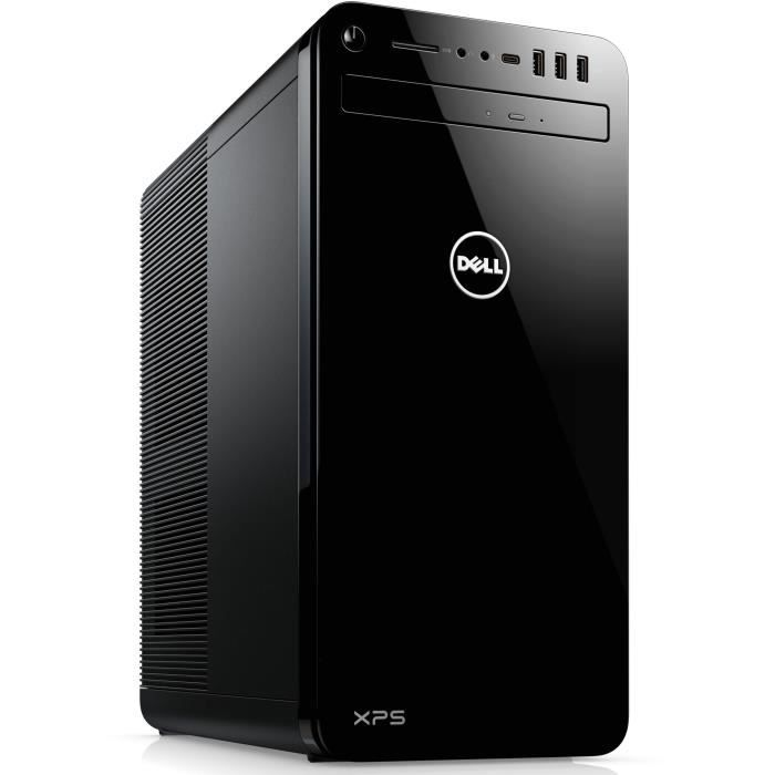 DELL PC de Bureau XPS 8930 - Core i7-8700 - RAM 8Go - Stockage 1To HDD - GTX 1060 6Go - Windows 10