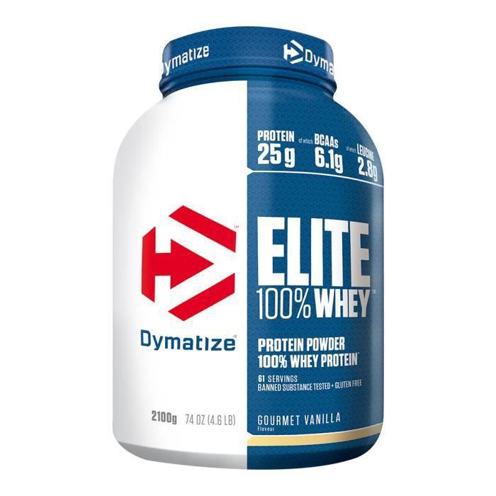 Elite Proteine Whey (2.100Kg) Vanille - DYMATIZE