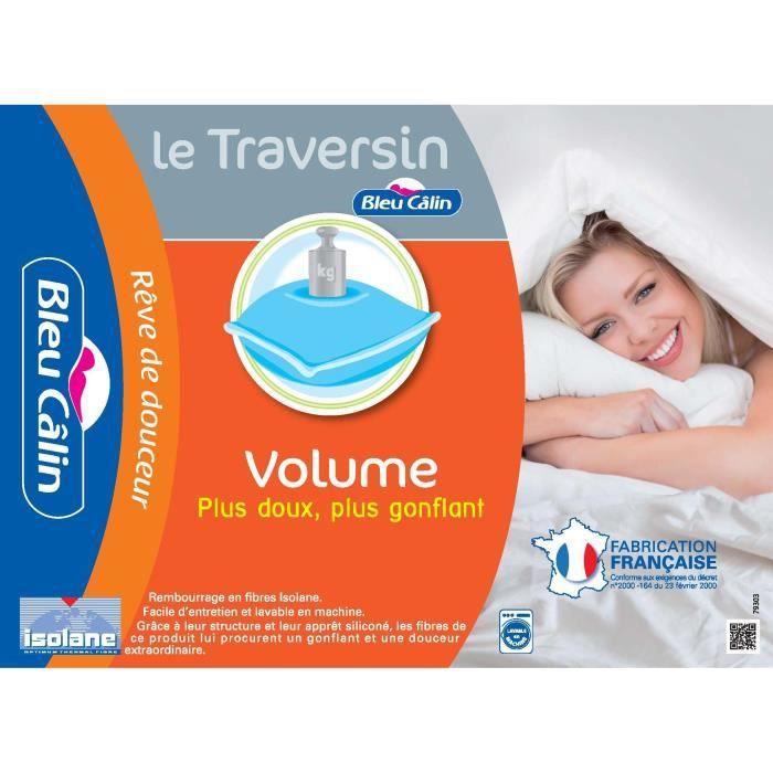BLEU CALIN Traversin Volume 140cm
