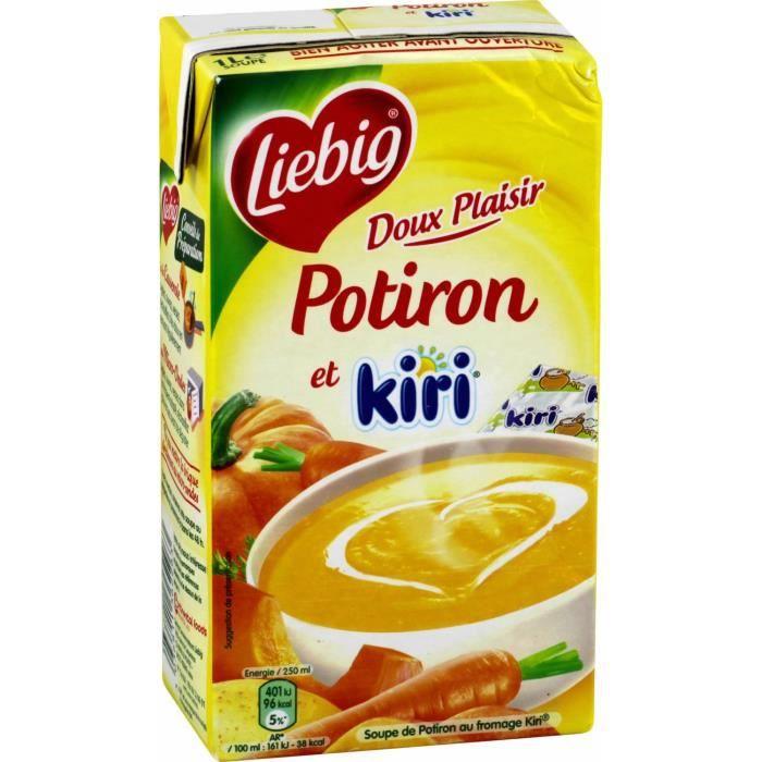 LIEBIG Soupe Potiron&kiri - 1L