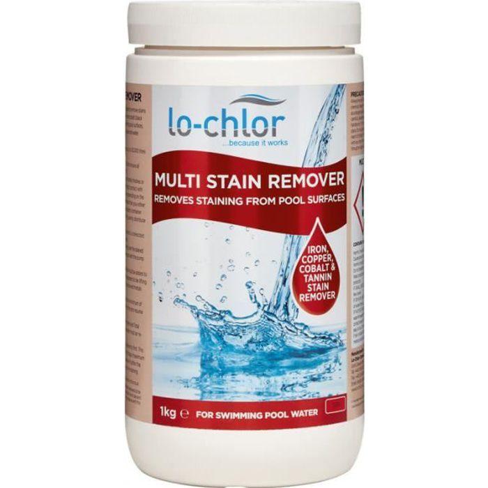 Multi Stain Remover Conçu pour enlever les taches dans la piscine ou le spa telles que le fer, le cuivre, le manganèse