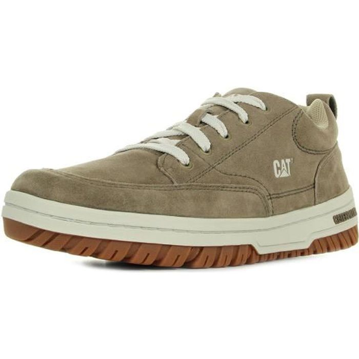 Caterpillar Basket basse Cuir Homme Marron