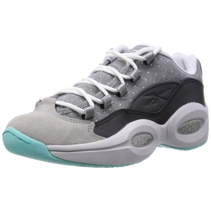 Chaussures De Running REEBOK Question faible Basketball Formateurs - R13 Chaussures pour hommes KV0SO Taille-42